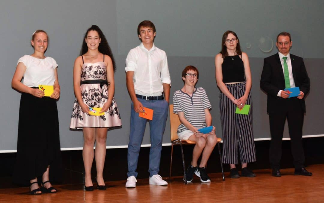 Noss-Diplomfeier 4.7.2019